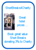 Shortbreaks4Charity - with Superbreaks donating 3% to charity